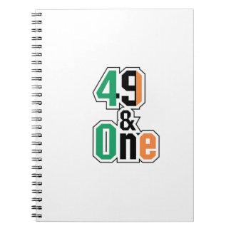 Carnet Irlandais de fans de boxe quarante-neuf et un (49