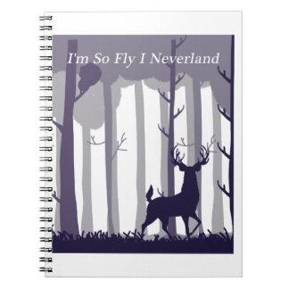 Carnet Je suis ainsi mouche I Neverland