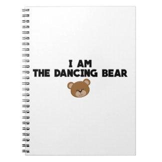 Carnet Je suis l'ours de danse