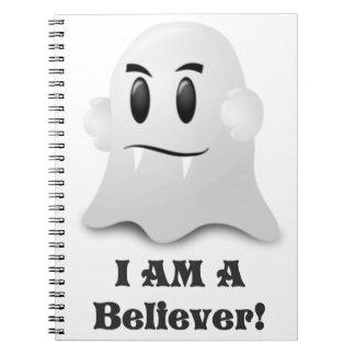 Carnet Je suis un croyant dans les fantômes