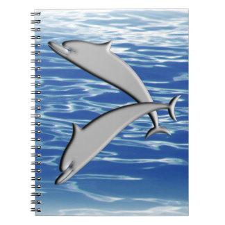 Carnet Jeu de dauphin