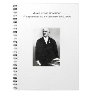 Carnet Josef Anton Bruckner 1886