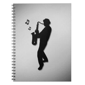 Carnet Joueur de saxophone