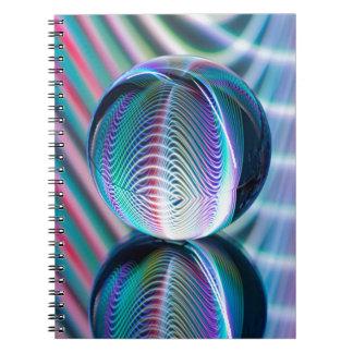 Carnet La boule reflètent 5