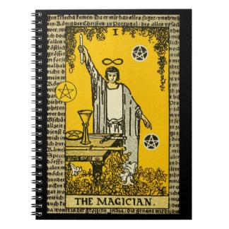 Carnet La carte de tarot de magicien