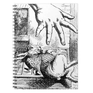 Carnet La grande main d'Alice