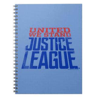 Carnet La ligue de justice | nous a unis se tiennent