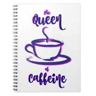 Carnet La reine de la caféine
