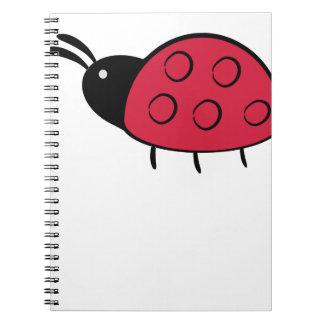 Carnet ladybird