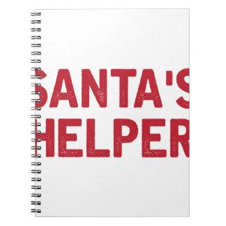 Carnet L'aide de Père Noël
