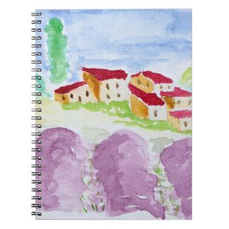 Carnet Lavande Fields Abbaye de Senanque | Provence