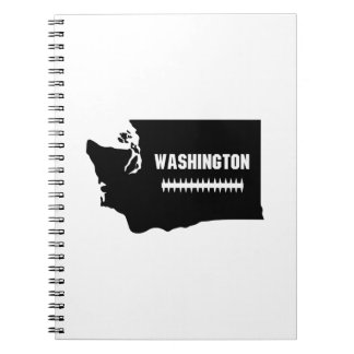 Carnet Le football de carte de Washington