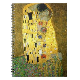 Carnet Le ~ Gustav Klimt de baiser