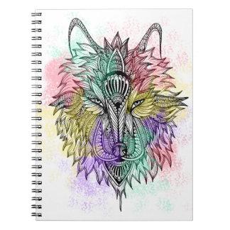 Carnet Le loup solitaire