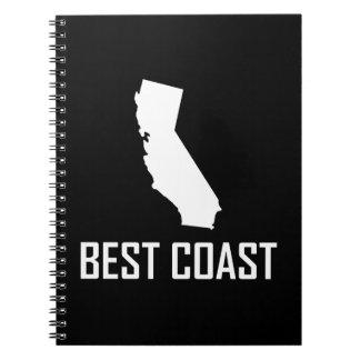 Carnet Le meilleur blanc de la Californie de côte ouest