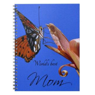 Carnet Le meilleur papillon de la maman du monde