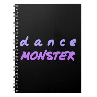 Carnet Le monstre de danse