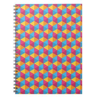 Carnet Le motif I de cube