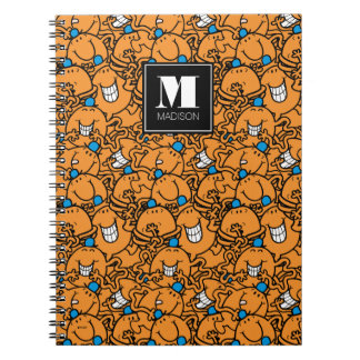 Carnet Le motif orange   de chatouillement de M. Tickle  