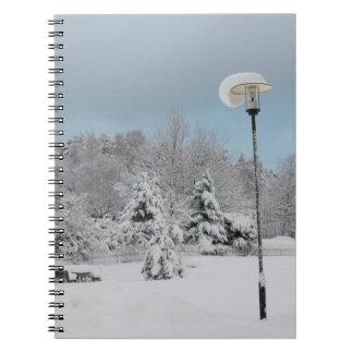 Carnet Le pays des merveilles d'hiver