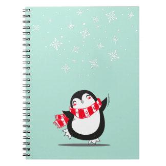 Carnet Le pingouin mignon