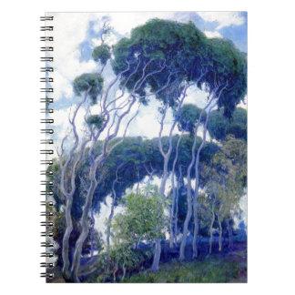 Carnet Le type s'est levé - eucalyptus de Laguna - chef