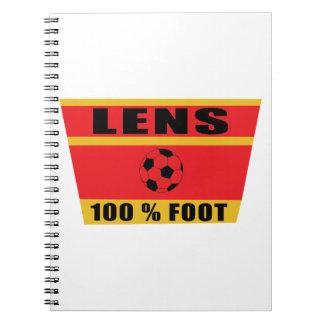 Carnet Lens football