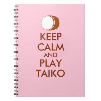Carnet Les cadeaux de Taiko gardent la coutume de tambour