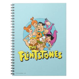 Carnet Les Flintstones et le graphique de famille de