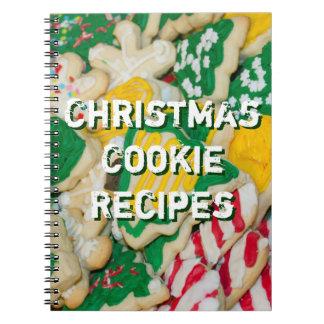 Carnet Les recettes de biscuit de Noël ont décoré la