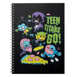 Carnet Les titans de l'adolescence vont ! graphique