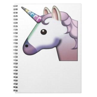 Carnet Licorne majestueuse Emoji