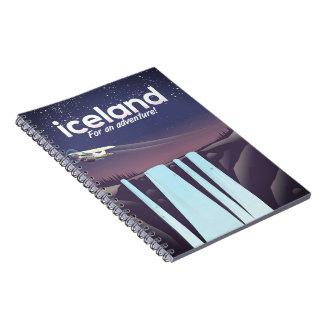 """Carnet L'Islande """"pour une aventure ! """""""