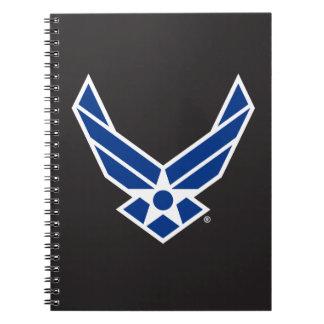Carnet Logo d'armée de l'air des États-Unis - Bleu