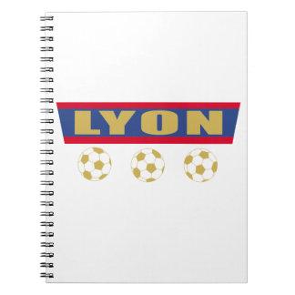 Carnet Lyon foot