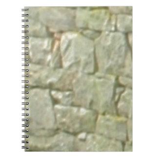 Carnet maçonnerie en pierre blanche