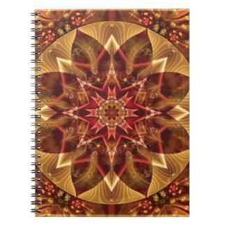 Carnet Mandalas du coeur du changement 15, articles de