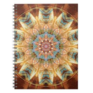 Carnet Mandalas du coeur du changement 4, articles de