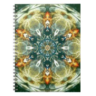 Carnet Mandalas du coeur du changement 6, articles de