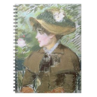 Carnet Manet | sur le banc, 1879