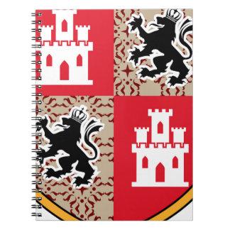 Carnet Manteau des lions de château de bras