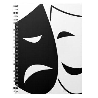 Carnet Masque de comédie et de tragédie