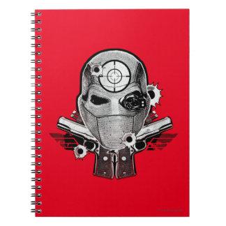 Carnet Masque du peloton | Deadshot de suicide et art de