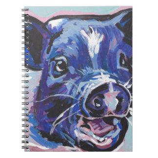 Carnet Mini peinture d'art de bruit d'animal familier de