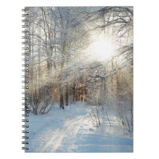 Carnet Miscellaneous - Frosty Landscape Patterns Six