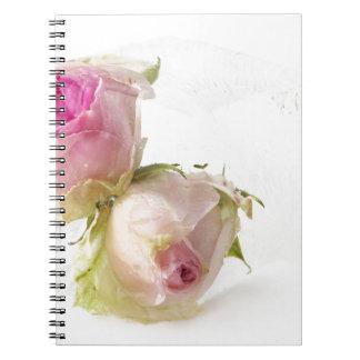 Carnet Miscellaneous - Frozen Flowers Patterns Five