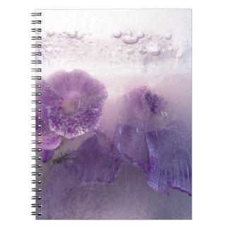 Carnet Miscellaneous - Frozen Flowers Patterns One
