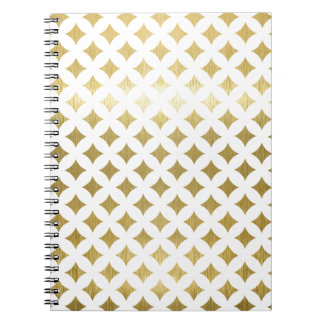 Carnet Miscellaneous - Gold Christmas Nine