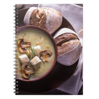 Carnet Miscellaneous - Mushroom Soup One