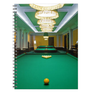 Carnet Miscellaneous - Pool Table Patterns Eight